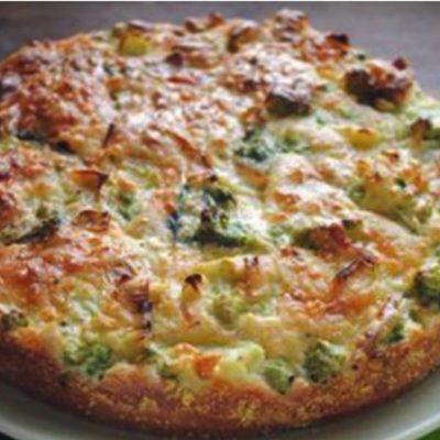 Domáca FITNESS brokolicová torta bez múky