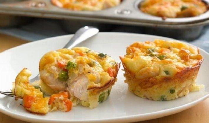 Jednoduchý a rýchly recept na kuracie muffiny. Jedlo po ktorom nepriberiete, ale naopak schudnete!