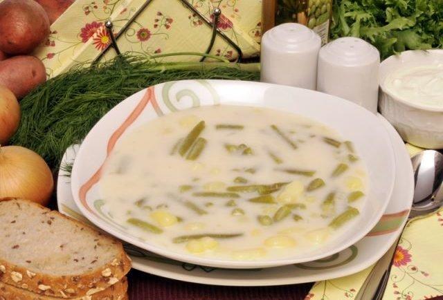 Úžasná polievka zo zelených fazuliek. Skrátka ako od babičky!