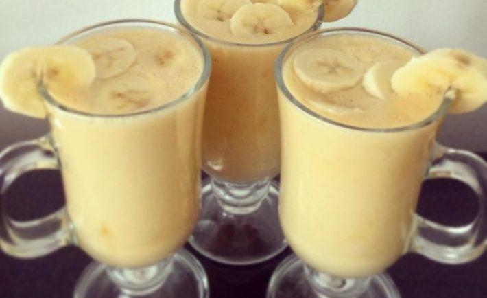 Recept na banánový nápoj, ktorý spáli všetok brušný tuk a to okamžite
