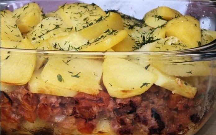 Vyskúšajte náš nový recept, unikátnu kombináciu zemiakov, zeleniny a šťavnatého mäsa.