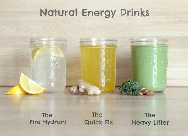 Ako si vyrobiť domáci energetický nápoj bez kofeínu a cukru (3 druhy)