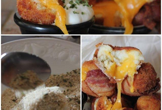Tento recept si zamilujete: zemiakové bombičky so syrom a slaninkou!