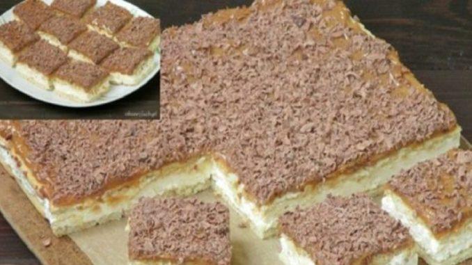 10 minútový dezert karamelka BEZ VARENIA karamelu: Pokiaľ máte doma balík sušeniek, neváhajte ani sekundu, je to fantázia!