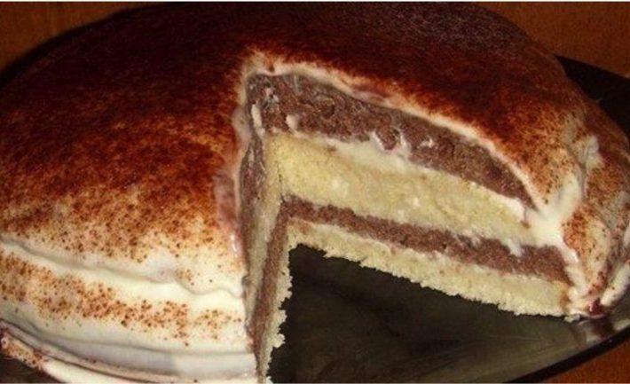 Jogurtový koláčik s lahodnou chuťou! Úžasná chuť si omotá Vaše chuťové bunky okolo prsta.