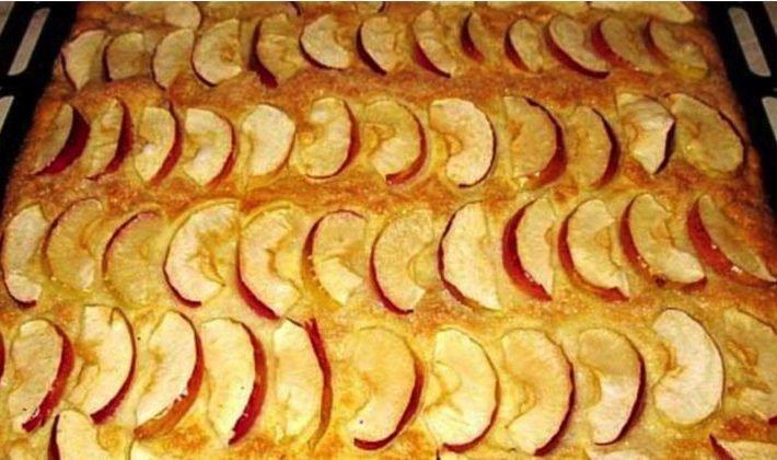 Lahodný jablkový koláčik pripravený už za pár minút!