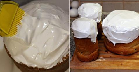 Najlepšia snehová poleva na torty a koláče všetkých čias, nerozteká sa, jednoducho výborná. Inú už robiť nebudete