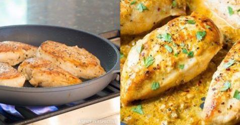 Kuracie prsia boli takmer vždy suché. Odkedy som ich začala pripravovať podľa tohto receptu, sú vždy šťavnaté a chutné!