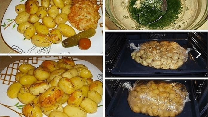 Cesnakové zemiaky pečené v rúre s tou najlepšou chuťou!