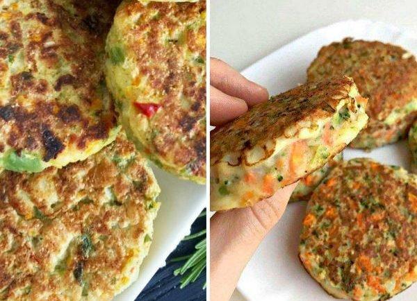 Zdravé zeleninové fašírky pripravené iba z 3-och surovín! Sú zdravé a nemajú skoro žiaden tuk