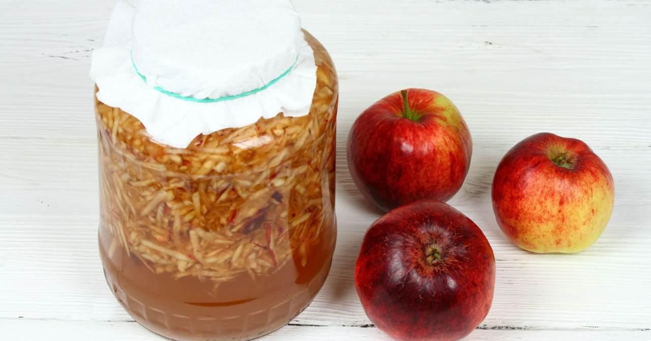 Domáci jablčný ocot