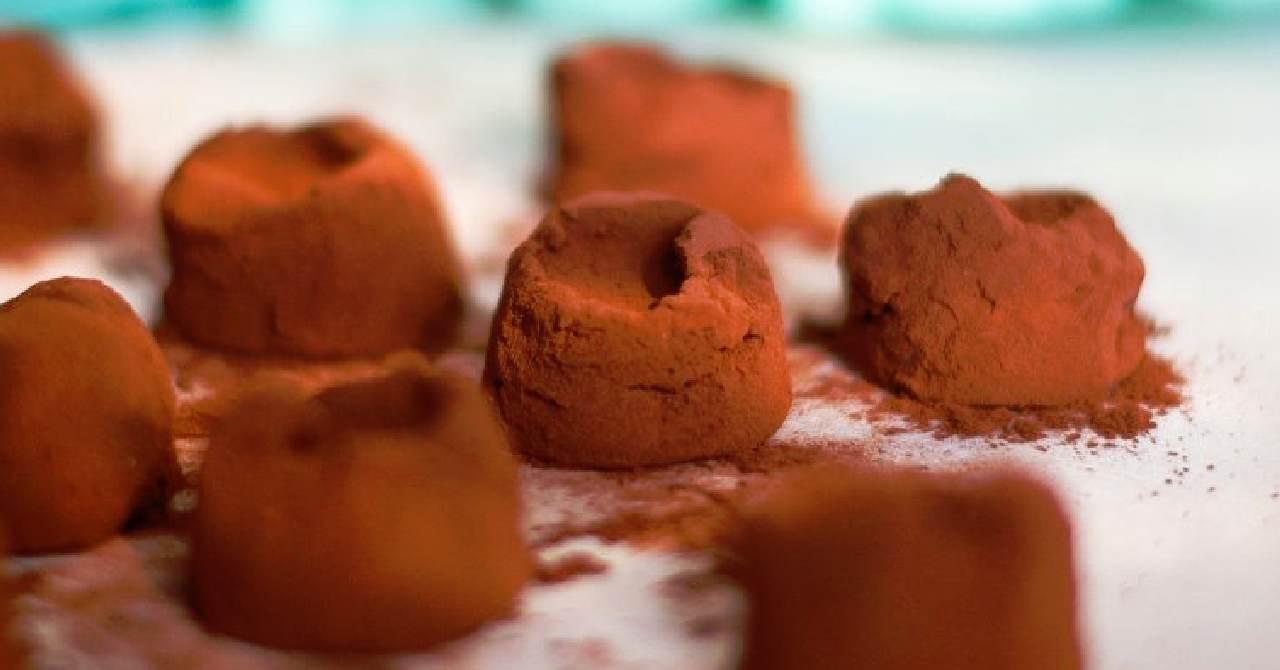 Pikantné čokoládové pokušenie.