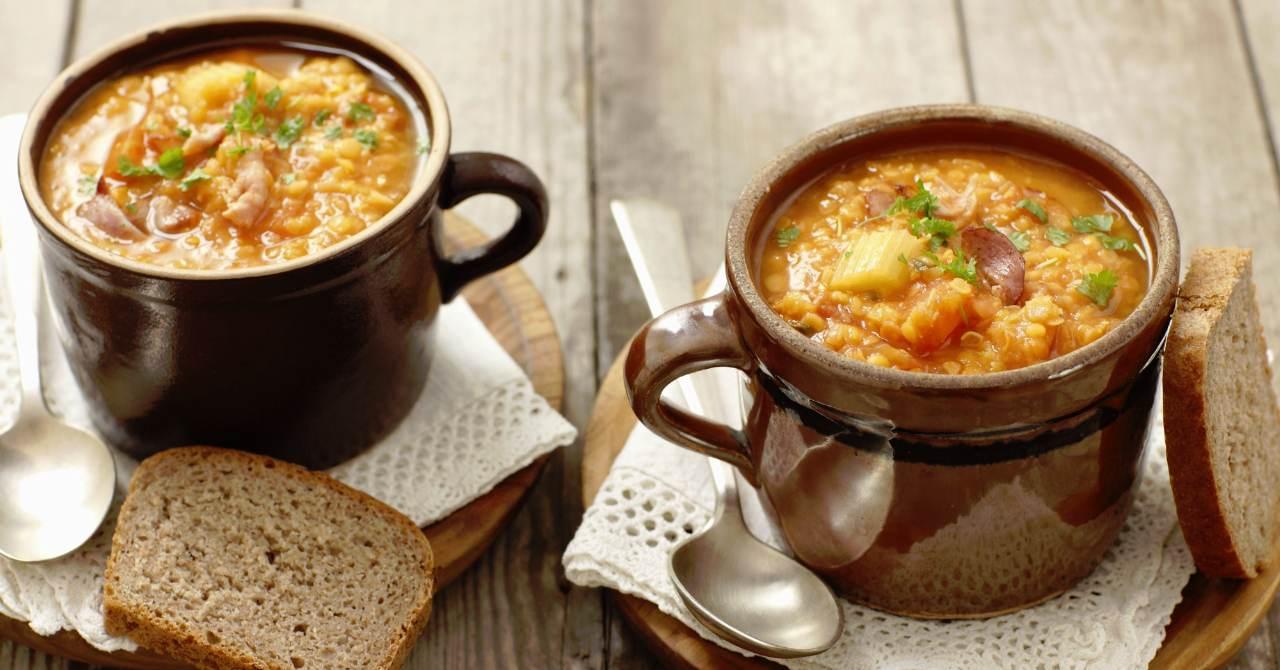 Tak chutná polievka zo šošovice a zázvoru…