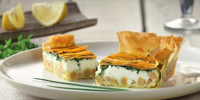 Zeleninovo syrový koláč-vhodný aj pre vegetariánov.