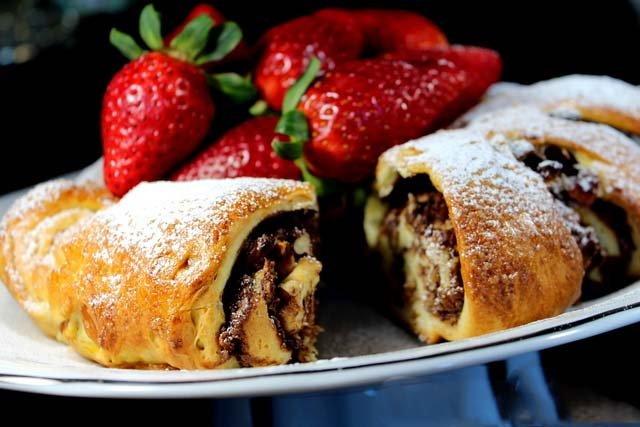 Orechovo-čokoládový venček, ktorý poteší každý maškrtný jazýček