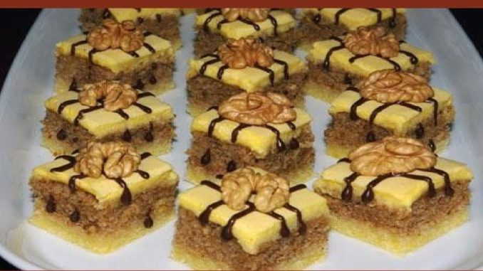 Linecké orechové kocky: Stačí pár ingrediencii a táto fantastická pochúťka je na stole!