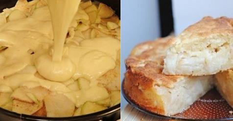 Úžasný jablkový koláč, ktorý si okamžite zamilujete! Pripravíte ho takmer okamžite!