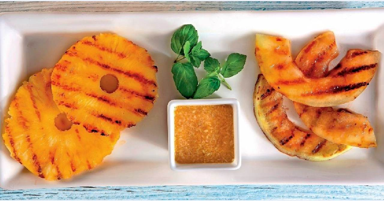Ananás s melónom