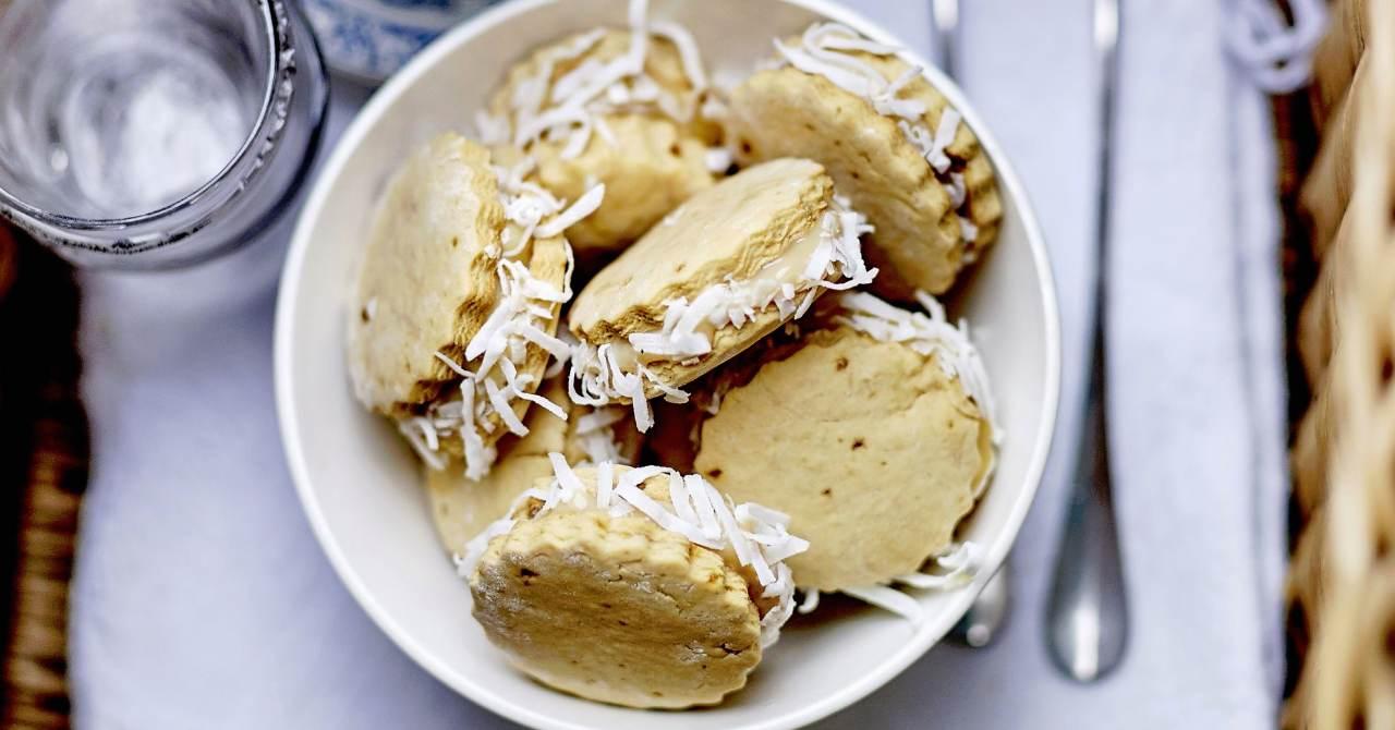 Kokosové koláčiky.