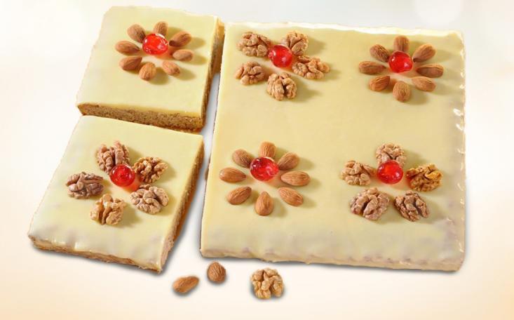 Tradičný Mazursky koláč